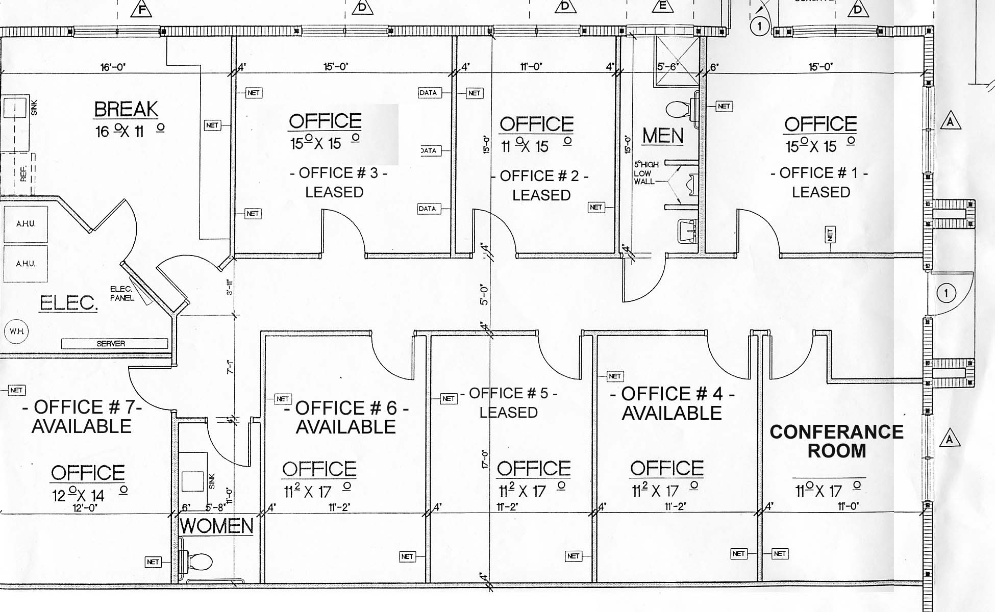 Layout Of Office Furnishings on bedroom house blueprint